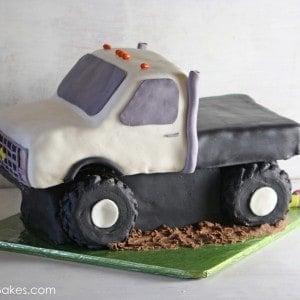 Flatbed Truck Cake