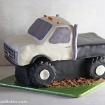 Flatbed Truck Cake