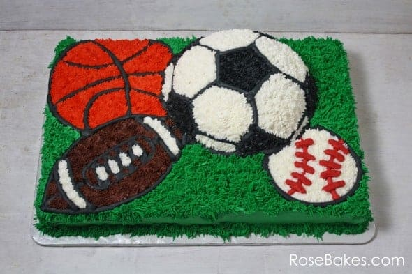 Small Sports Ball Cake Pan