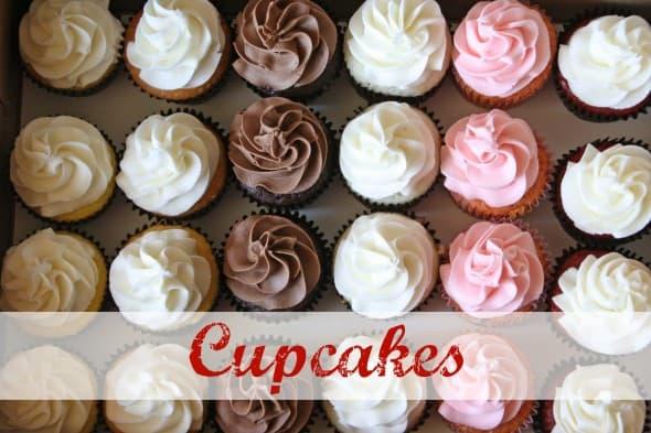 Variety Box of Cupcakes