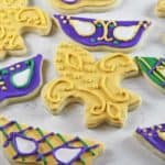 Mardi Gras Cookies 3