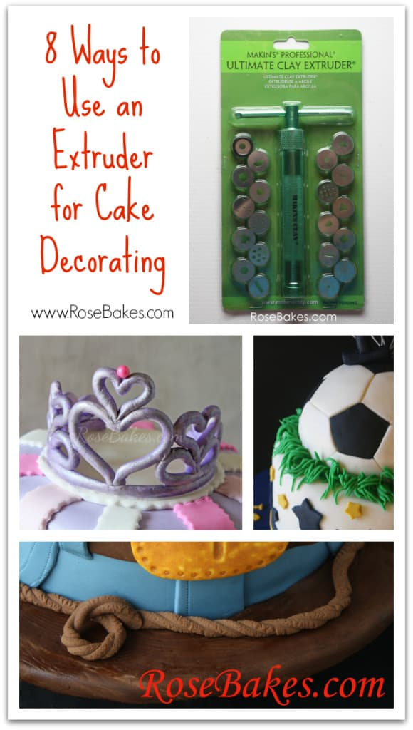 Extruder Gun Cake Decorating : WFMW: Why I Think You Need an Extruder for Cake Decorating