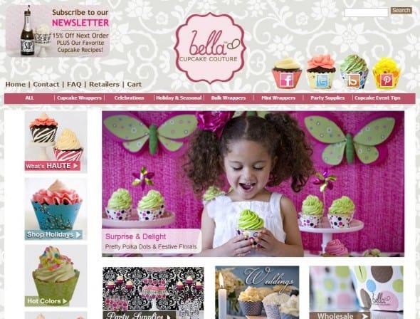 Bella Cupcake Couture Screen Shot