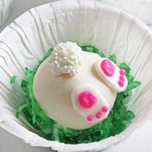 Bunny Bottom Cake Balls