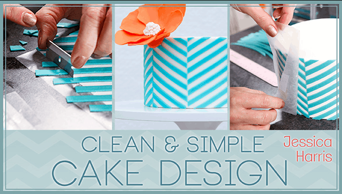 Click to see Clean & Simple Cake Design