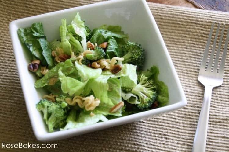 Crunchy Oriental Broccoli Salad