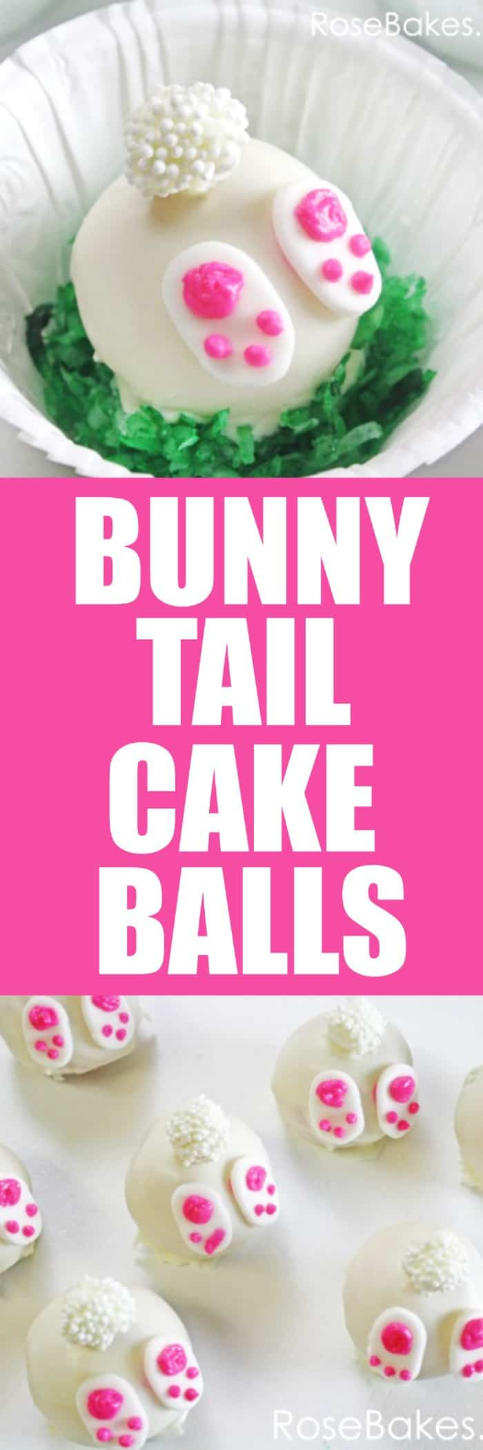 How To Make Bunny Tail Cake Pops