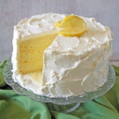 Cakejournal Com Lemon Chiffon Layer Cake Recipe