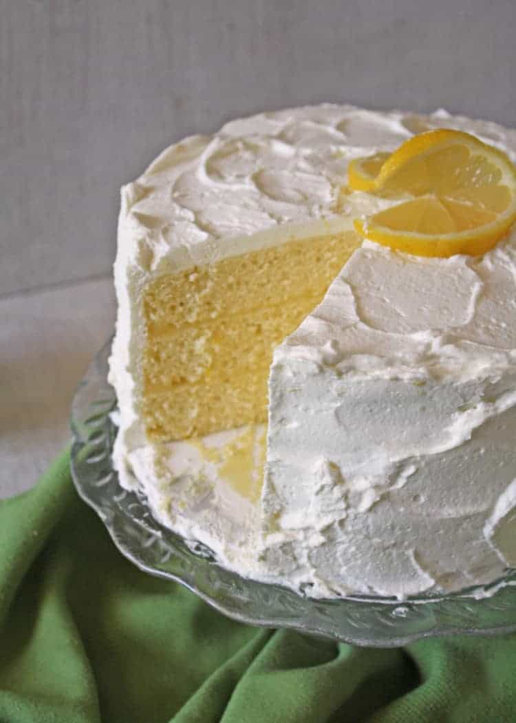 Lemon Chiffon Layer Cake | RoseBakes.com