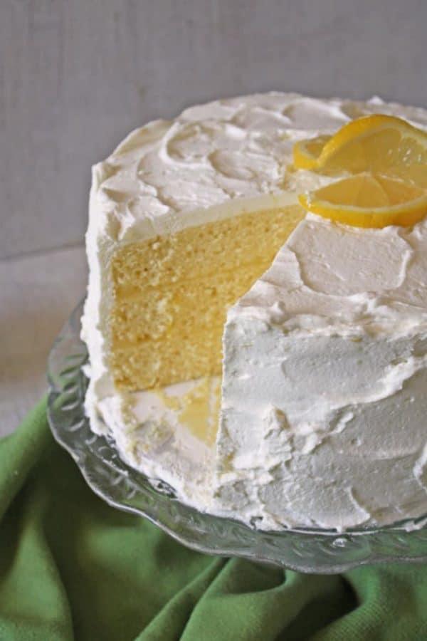Lemon Chiffon Layer Cake | RoseBakes.com