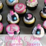Makeup and Fashion Purse Cupcakes