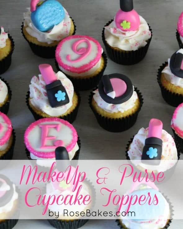 Make-up Purse Cupcake