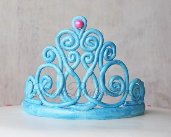 Princess Gum Paste Tiara