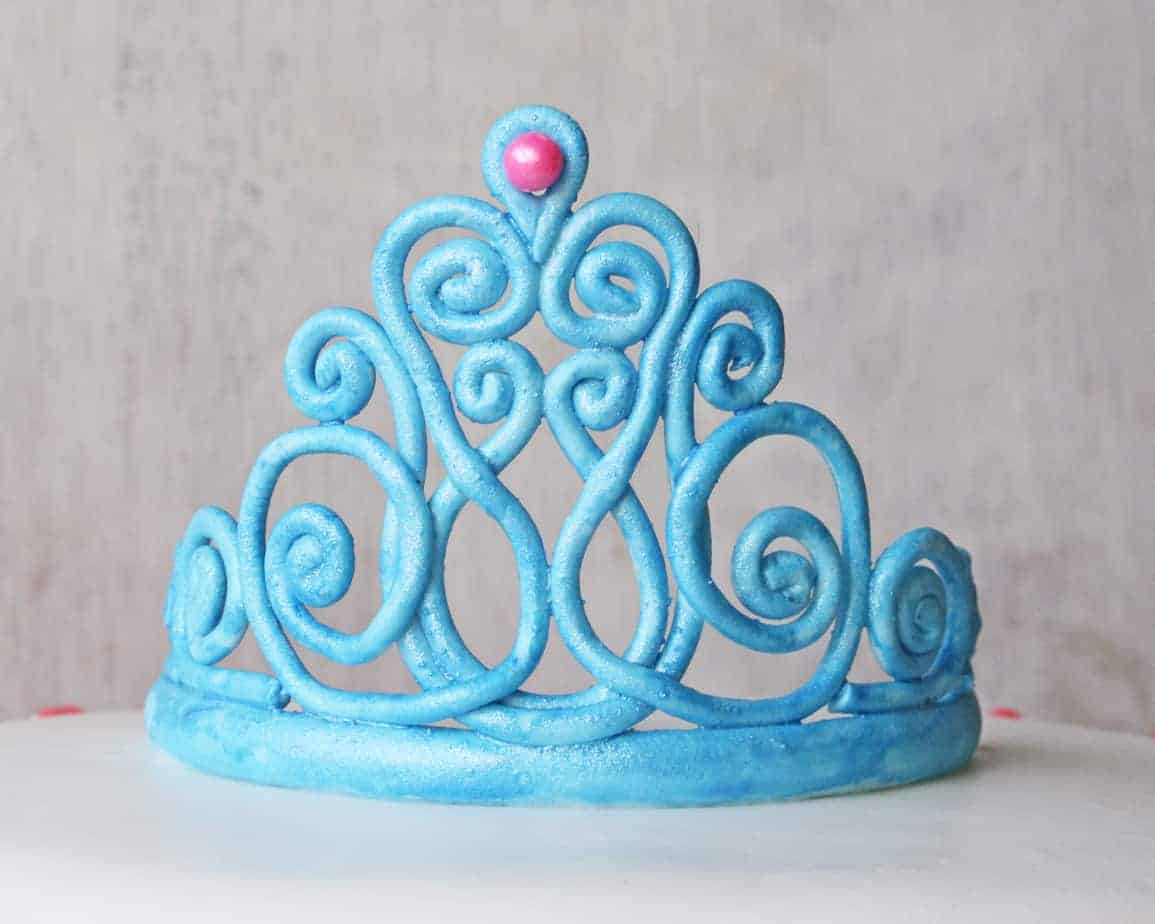 How To Make A Gum Paste Tiara Step By Step Picture Tutorial
