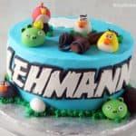 Angry Birds Cake Lehmann
