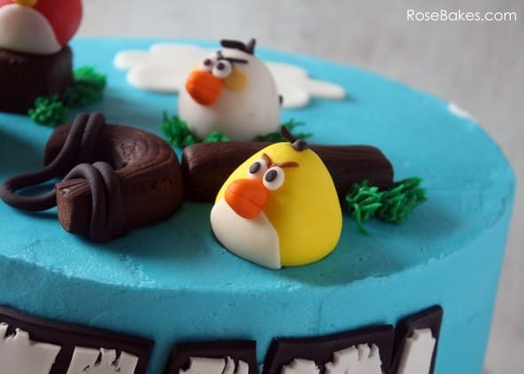 Angry Birds Cakes Rose Bakes