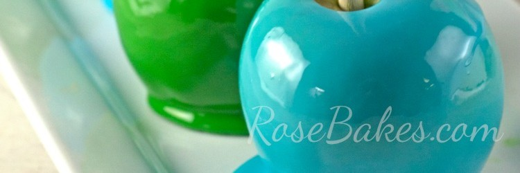 Blue & Green Candy Apples Feature