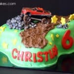 Christian Mud Riding Mustang Cake