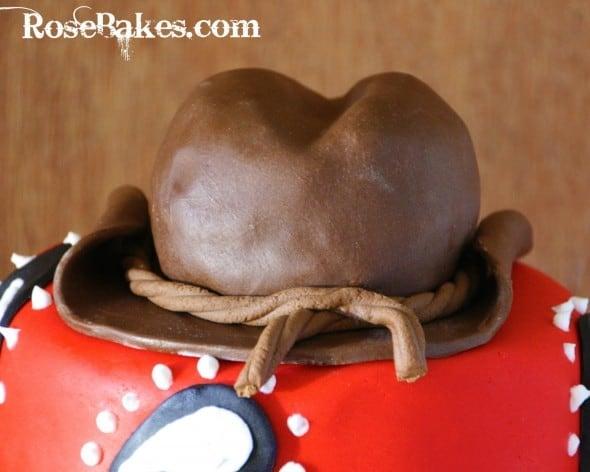 Cowboy Hat Cake Topper