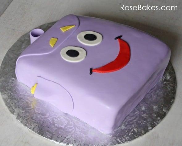 Dora Explorer Cake Pops