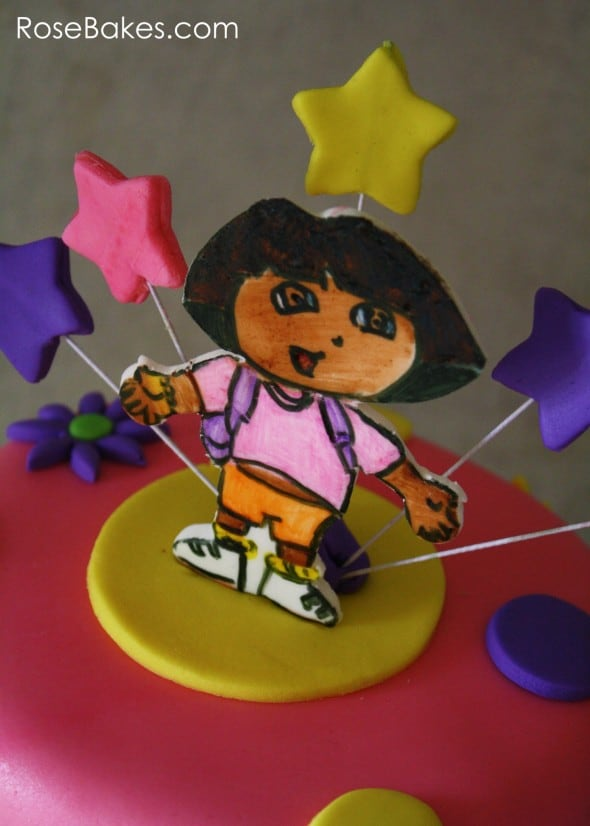 Dora the Explorer Cake Topper