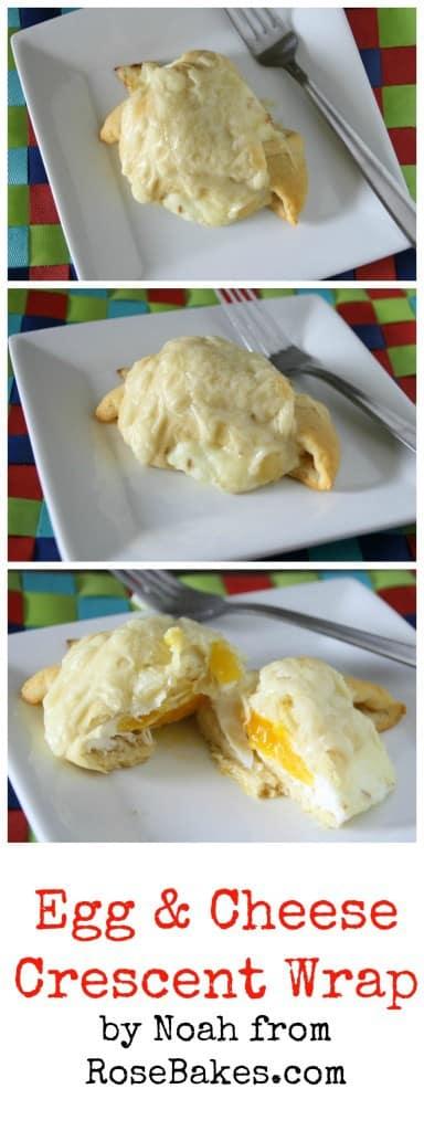 Egg & Cheese Crescent Wrap Recipe