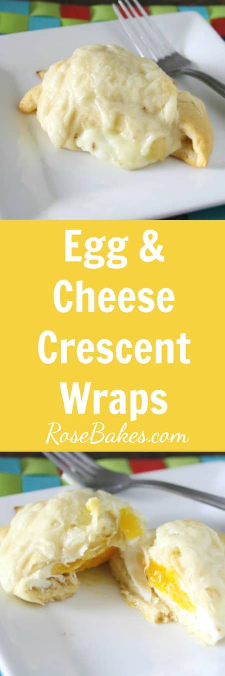 Egg & Cheese Crescent Wraps