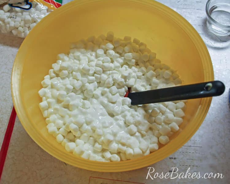 how to make marshmallow fondant uk