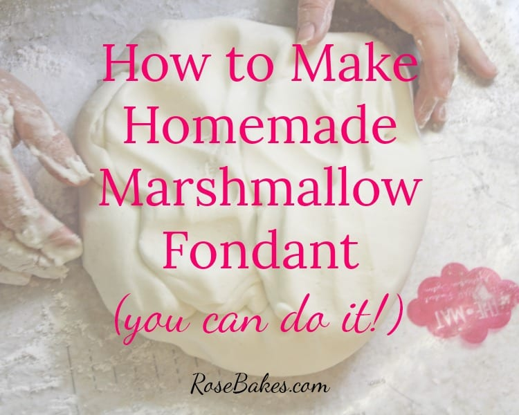 Fondant Recipe for Cakes - Homemade Veg Fondant without Glycerin,Marshmallow,Corn  syrup