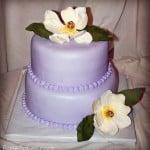 Lavender Magnolia Cake