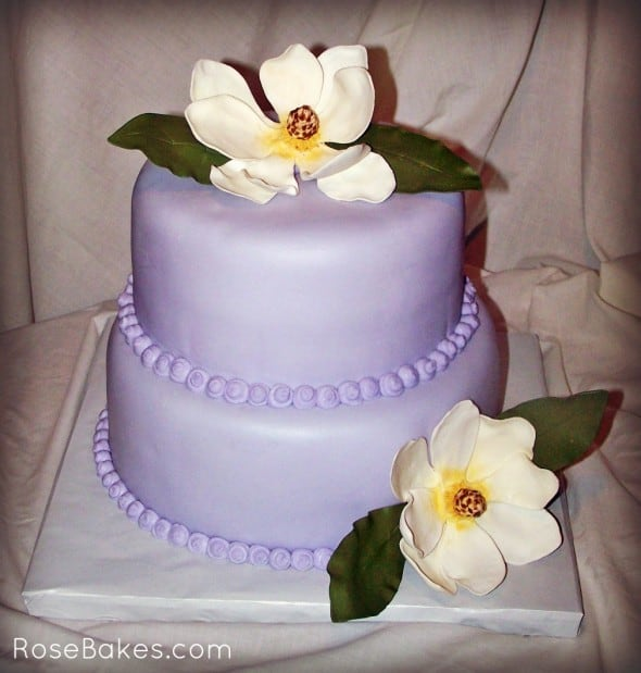 Wedding Cake Class: How To Make Southern Sugar Flowers