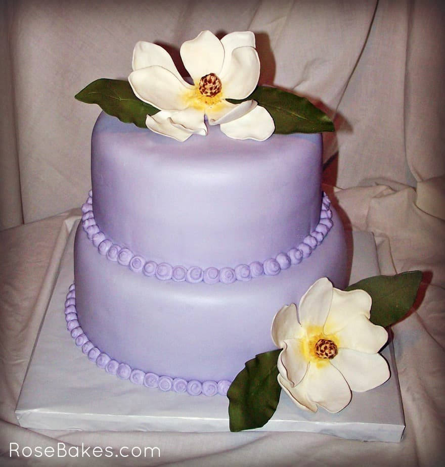 Wedding Cake Classes: How To Make Southern Sugar Flowers