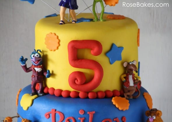 Muppets Cake Number on Side