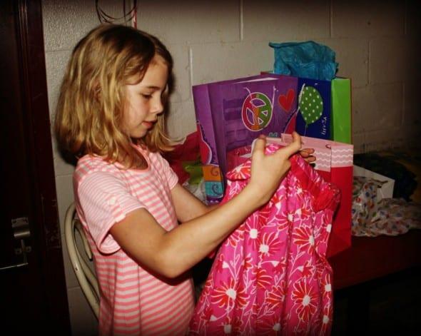 Sarah Opening Gift