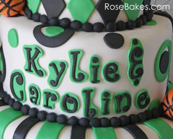 School Themed Basketball 13th Birthday Cake Names