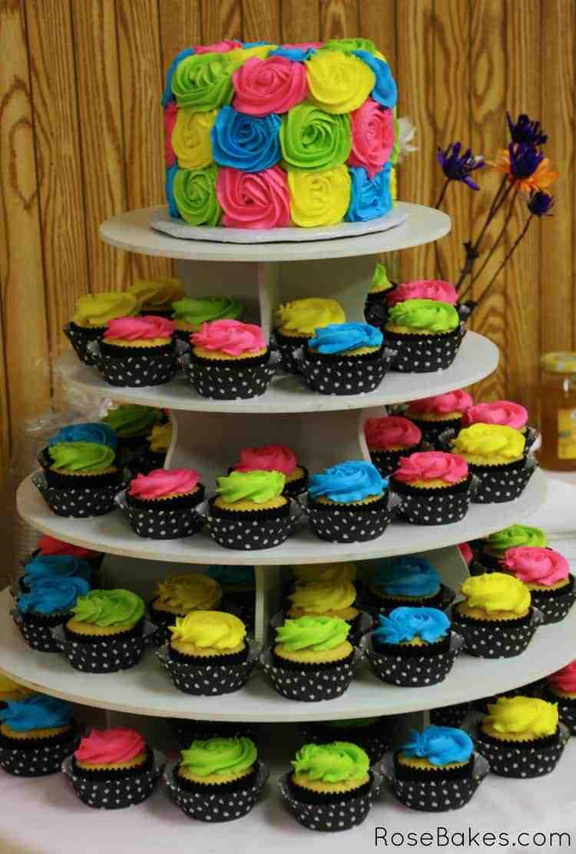Cupcake Tower Birthday Cake Recipes
