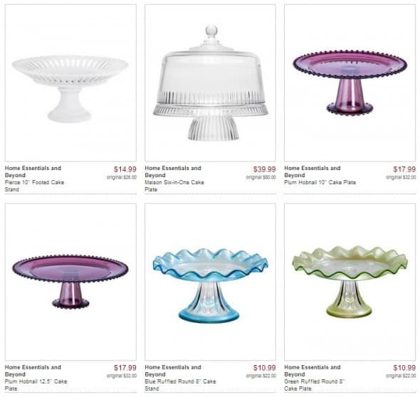 Cake Plates on Zulily