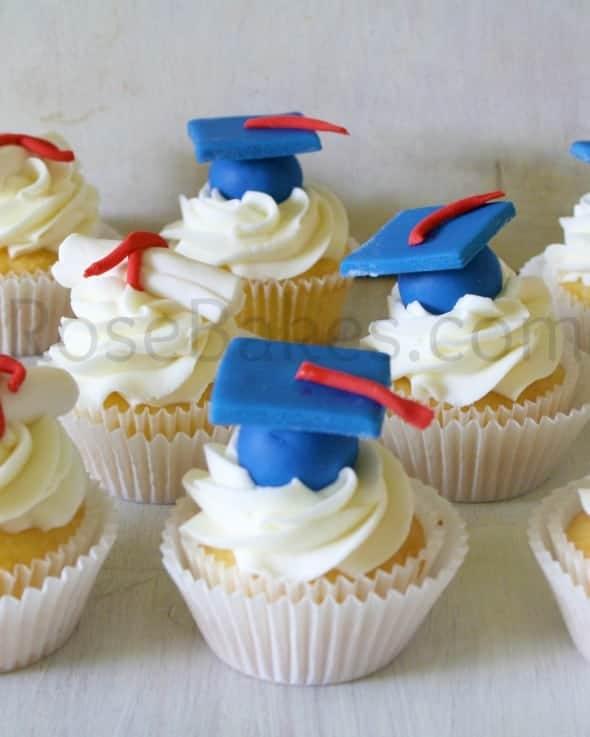 Graduation Cupcakes P