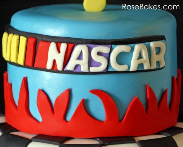 Nascar Cake Logo