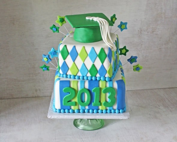 Ponchatoula High School Graduation Cake