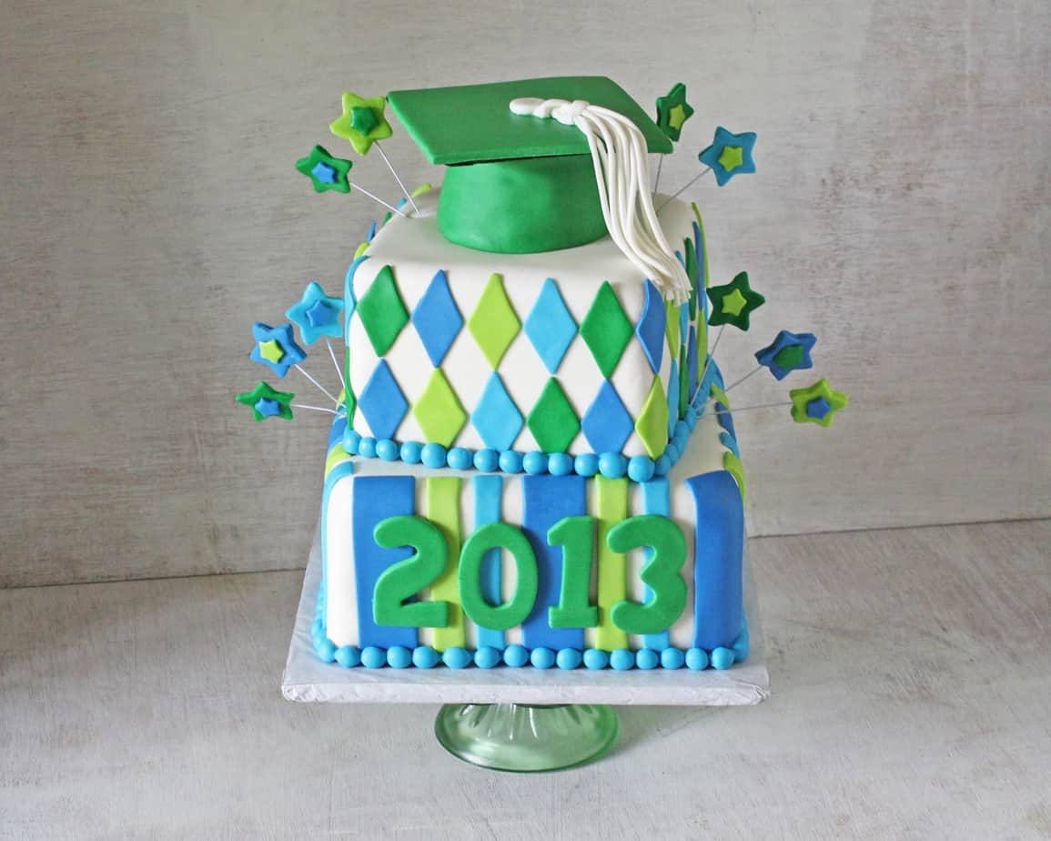 Ponchatoula High School Graduation Cake