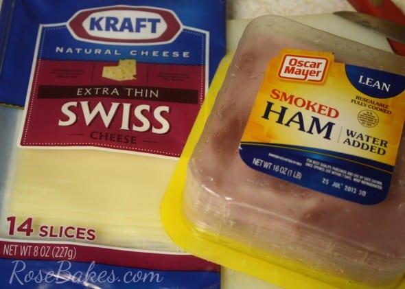 Chicken Cordon Bleu Casserole Swiss Cheese and Ham