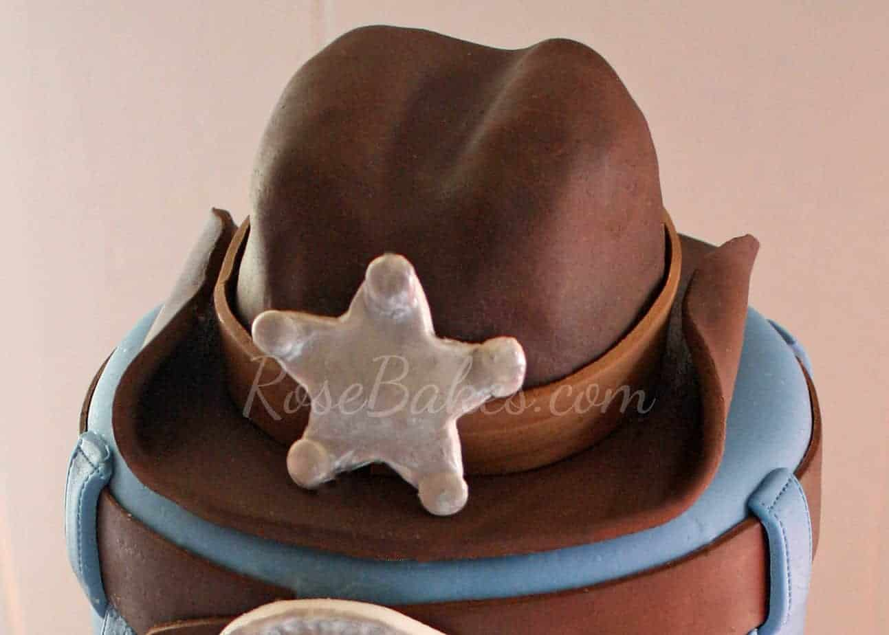How To Make A Fondant Cowboy Hat For A Cake