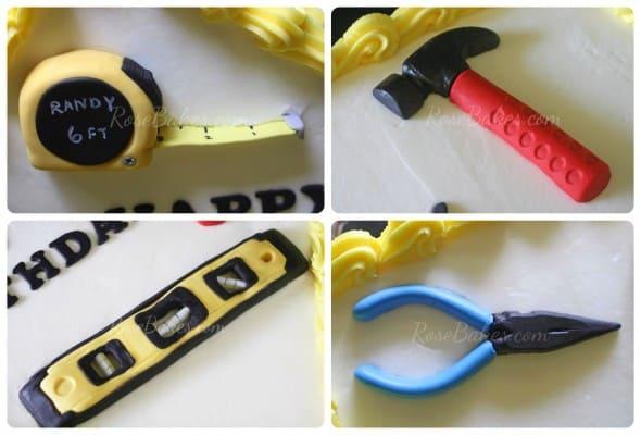 Fondant Tools Collage