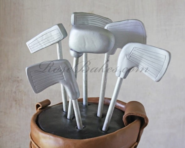 Golf Clubs in Golf Bag
