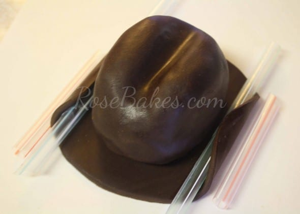 How to Make Cowboy Hat Cake Topper 41