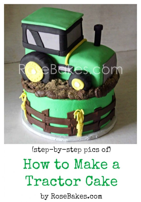 how to make a tractor cake