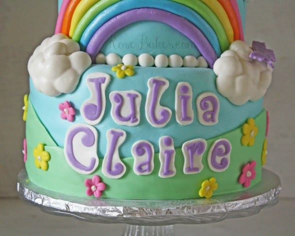 My Little Pony Cake Name WM
