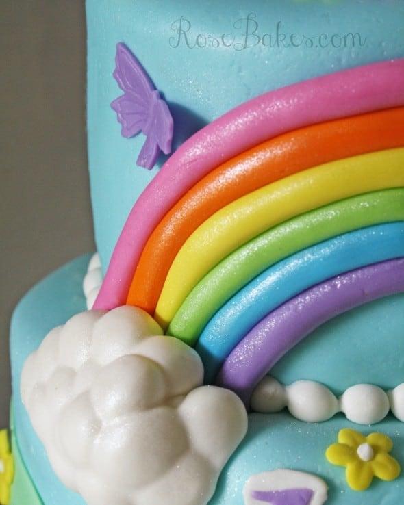 My Little Pony Cake with Rainbow WM