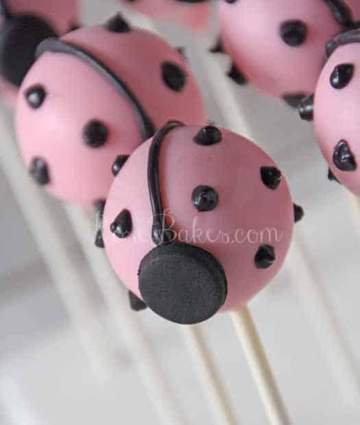 How To Make Ladybug Cake Pops Video